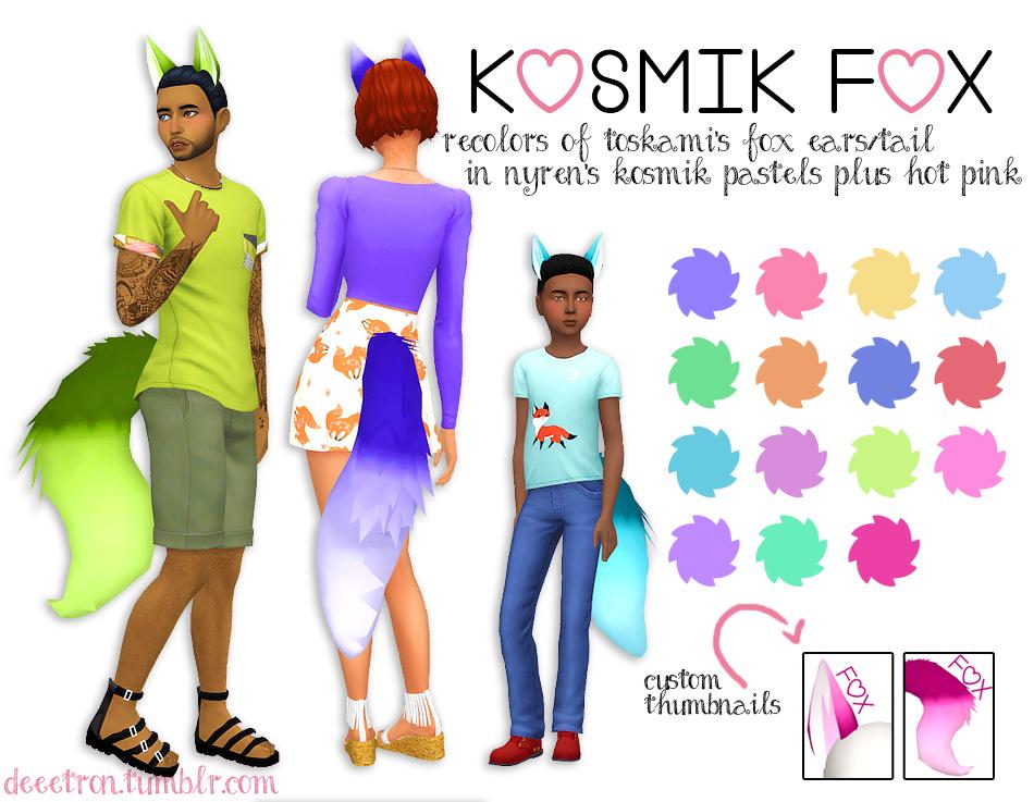 Kosmik Fox Simsworkshop